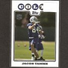 JACOB TAMME - 2008 Topps Rookie - Colts & Kentucky Wildcats