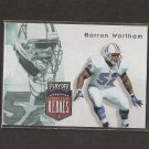 BARRON WORTHAM - 1997 Playoff Unsung Heroes - Oilers & UTEP Miners