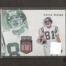 CHRIS WALSH - 1997 Playoff Unsung Heroes - Vikings & Stanford Cardinal