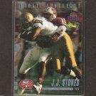 JJ STOKES 1995 Classic Rookie Spotlight - 49ers & UCLA Bruins