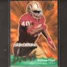 WILLIAM FLOYD 1995 Fleer Ultra Ultrabilities - 49ers & Florida State Seminoles