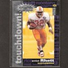 ERRICT RHETT 1995 Collector's Choice Crash the Game - Browns, Buccaneers & Florida Gators
