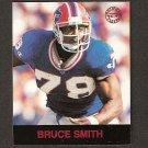 BRUCE SMITH - 1997 Fleer Goudey Gridiron Greats Parallel - Bills & VA Tech Hokies