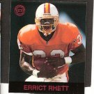 ERRICT RHETT - 1997 Fleer Goudey Gridiron Greats Parallel - Buccaneers & Florida Gators