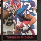 THURMAN THOMAS - 1997 Fleer Goudey Gridiron Greats Parallel - Bills & Oklahoma State