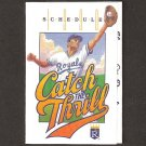 Kansas City Royals 1990 Pocket Schedule