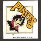 Pittsburgh Pirates - Early 1990's Team STICKER