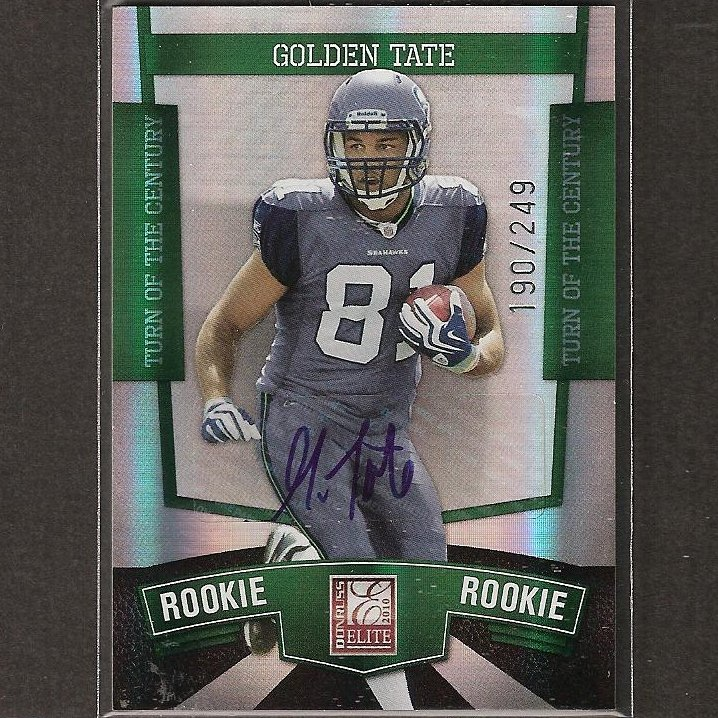2010 Donruss Elite Autograph Rookie Card