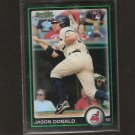 Jason Donald - 2010 Bowman Chrome Refractor RC - Indians & University of Arizona Wildcats