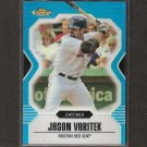 JASON VARITEK - 2007 Topps Finest BLUE REFRACTOR - Red Sox