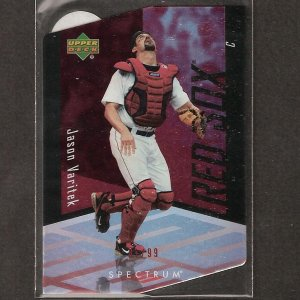 JASON VARITEK - 2007 Upper Deck Spectrum - Boston Red Sox - #ed 81/99