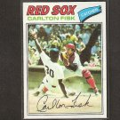 CARLTON FISK - 1977 Topps NM++- Red Sox