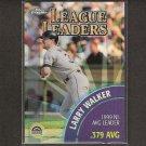 LARRY WALKER & NOMAR GARCIAPARRA 2000 Topps Chrome League Leaders Refractor - Rockies & Red Sox