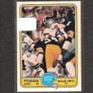 1981 Fleer Team Action Football Super Bowl X - Pittsburgh Steelers
