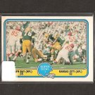 1981 Fleer Team Action Football Super Bowl I - Green Bay Packers