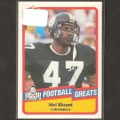 MEL BLOUNT - 1989 SWELL Football Greats - Steelers & Southern University