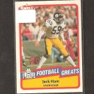 JACK HAM - 1989 SWELL Football Greats - Steelers & Penn State Nittany Lions