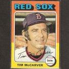 TIM McCARVER 1975 Topps - Boston Red Sox - Near Mint
