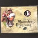 CHRISTIAN PONDER - 2011 Upper Deck Historical Programs Rookie - Florida State Seminoles