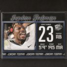 JORDAN TODMAN - 2011 Press Pass Rookie - UConn Huskies
