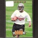 WARRICK DUNN - 1997 Pinnacle ROOKIE - Buccaneers & Seminoles