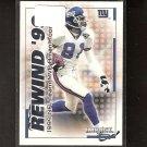 AMANI TOOMER 2000 Impact Rewind '99 - New York Giants & Michigan Wolverines