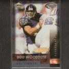 ROD WOODSON - 1999 Collector's Edge Fury Gold Ingot Millenium Collection - Ravens & Purdue