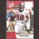 MIKE WILLIAMS - 2010 Donruss Rated Rookie - Buccaneers & Syracuse Orangemen