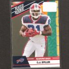 CJ SPILLER - 2010 Donruss Rated Rookie - Bills & Clemson Tigers
