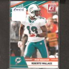 ROBERTO WALLACE 2010 Donruss Rated Rookie - Dolphins & San Diego State