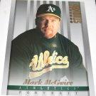 MARK McGWIRE - 1997 Studio 8x10 Portrait - Oakland A's & St. Louis Cardinals