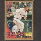 JOSH REDDICK - 2010 Topps Gold - Boston Red Sox, Athletics - Serial #1754/2010