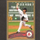 CLAY BUCHHOLZ - 2011 Topps Gold - Boston Red Sox - Serial #1553/2011
