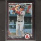 KEVIN YOUKILIS - 2010 Bowman Chrome REFRACTOR - Boston Red Sox