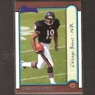 D'WAYNE BATES - 1999 Bowman RC - Bears, Vikings & Northwestern Wildcats