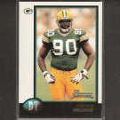 VONNIE HOLIDAY 1998 Bowman Rookie - Packers, Redskins & North Carolina Tarheels
