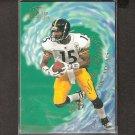 MIKE ADAMS 1997 Flair Showcase Wave of the Future - Steelers & Texas Longhorns