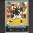 DREW HENSON 2004 Bowman ROOKIE - Cowboys & Michigan Wolverines