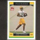 GREG JENNINGS 2006 Topps Rookie - Packers & Western Michigan Broncos