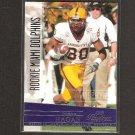 DEREK HAGAN 2006 Playoff Prestige Rookie - Dolphins & Arizona State Sun Devils