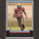 MICHAEL CLAYTON 2004 Bowman ROOKIE - Buccaneers, Giants & LSU Tigers