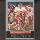 CASEY CLAUSEN 2004 Bowman ROOKIE - Chiefs & Tennessee Volunteers