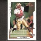 PETER WARRICK 2000 Upper Deck MVP ROOKIE - Bengals & Florida State Seminoles