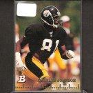 CHARLES JOHNSON - 1994 Bowman Rookie - Steelers & Colorado Buffaloes
