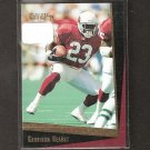 GARRISON HEARST - 1993 Score Select ROOKIE CARD - Cardinals & Georgia Bulldogs