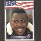 LEVON KIRKLAND - 1992 A&W Sports ROOKIE CARD - Steelers & Clemson Tigers