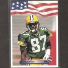 ROBERT BROOKS - 1992 A&W Sports ROOKIE CARD - Packers & South Carolina Gamecocks