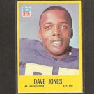 DAVE DEACON JONES - 1967 Philadelphia - Rams & South Carolina State
