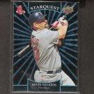 KEVIN YOUKILIS - 2009 Upper Deck Starquest Black Ultra Rare - Boston Red Sox #106/150