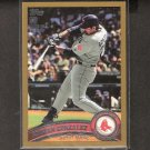 ADRIAN GONZALEZ - 2011 Topps Gold - Dodgers, Red Sox  #498/2011
